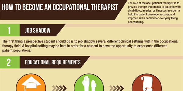 Steps To Become An Occupational Therapist Infographix Directory