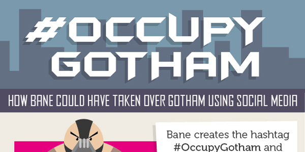 Bane Takes Over Gotham Infographic