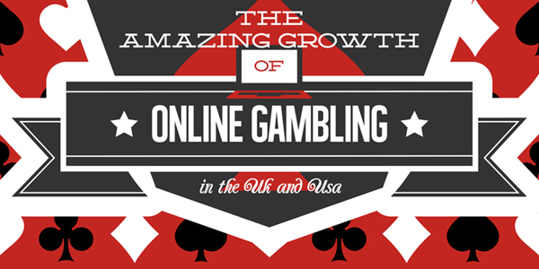 Infographic on Online Gambling Growth