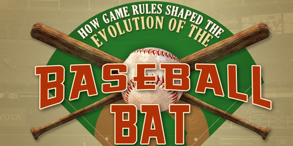 Baseball Bat History Infographic