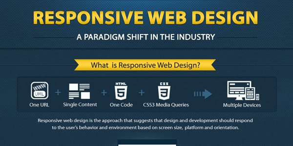 Infographic Explaining Responsive Web Design