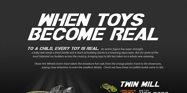 Infographic on Real Hot Wheels