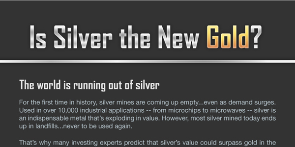 The Rise of Silver Prices Infographic