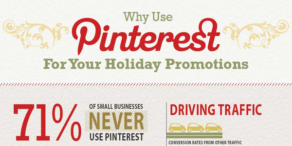 Holiday Marketing Strategies for Pinterest Infographic