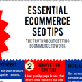 21 SEO Tips For Ecommerce Web Sites Infographic