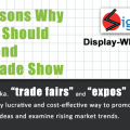 5 Reasons You Should Attend A Trade Show Infographic