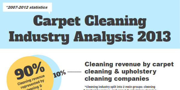 US Carpet Cleaning Industry Infographic