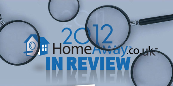 HomeAway 2012: A Year In Review Infographic