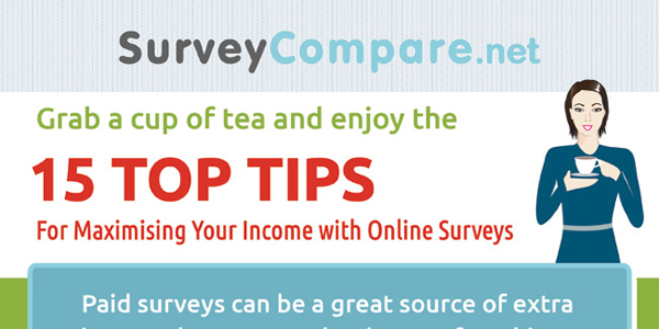 How To Maximize Your Income With Paid Surveys Infographic