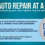 Most Common DIY Car Repairs Infographic