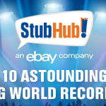 Top 10 Concert World Records Infographic