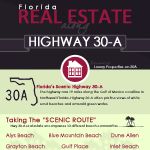 Florida Real Estate Along Highway 30-A
