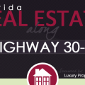Florida Real Estate Along Highway 30-A Infographic