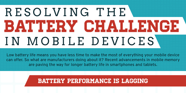 Solving the Battery Life Challenge in Mobile Devices Infographic