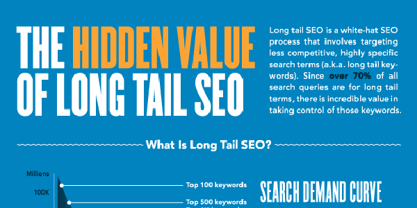 The SEO Power of Long Tail Keywords Infographic