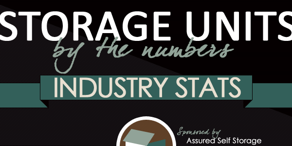 Storage Units By The Numbers Infographic