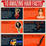 10 Interesting Facts About Hair Infographic