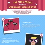 5 Popular Props For Wedding Photo Booths Infographic