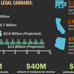 The Growth of Marijuana Dispensaries Infographic