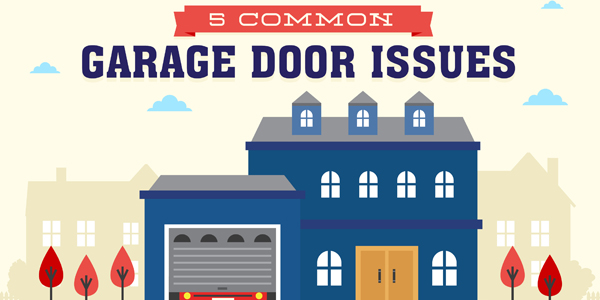 5 Common Issues With Garage Doors Infographic