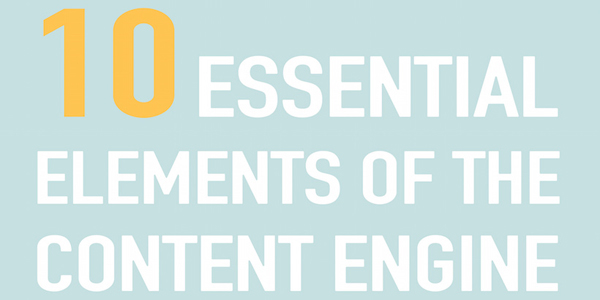 10 Key Elements of Content Marketing Infographic