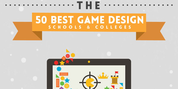 Top Schools For Video Game Design Infographic