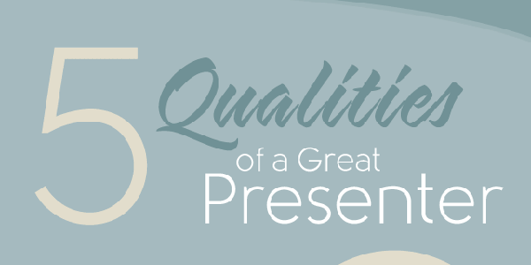 5 Must Have Qualities Of A Skillfull Presenter Infographic