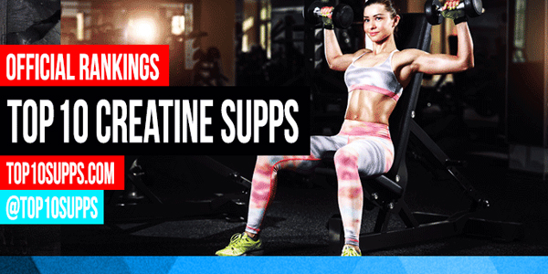 Ten Best Creatine Supplements Infographic