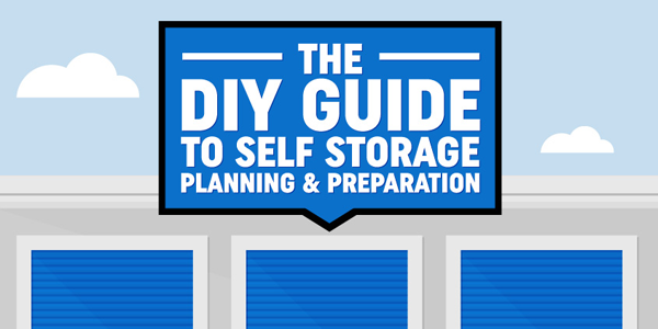 Guide To Storing Goods In Self Storage Infographic