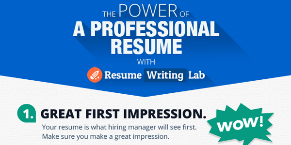 5 reasons to order a professional resume  u2013 infographix