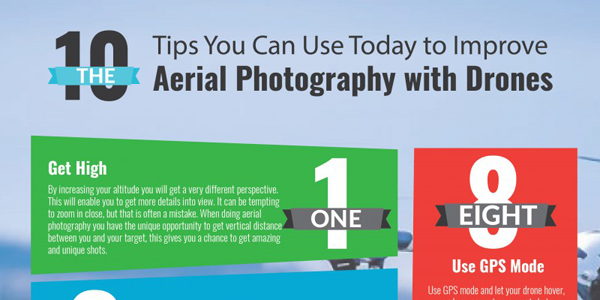 10 Tips To Take Better Pictures With Your Drone Infographic