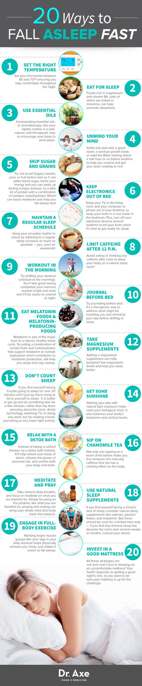 Natural Ways To Get To Sleep Faster