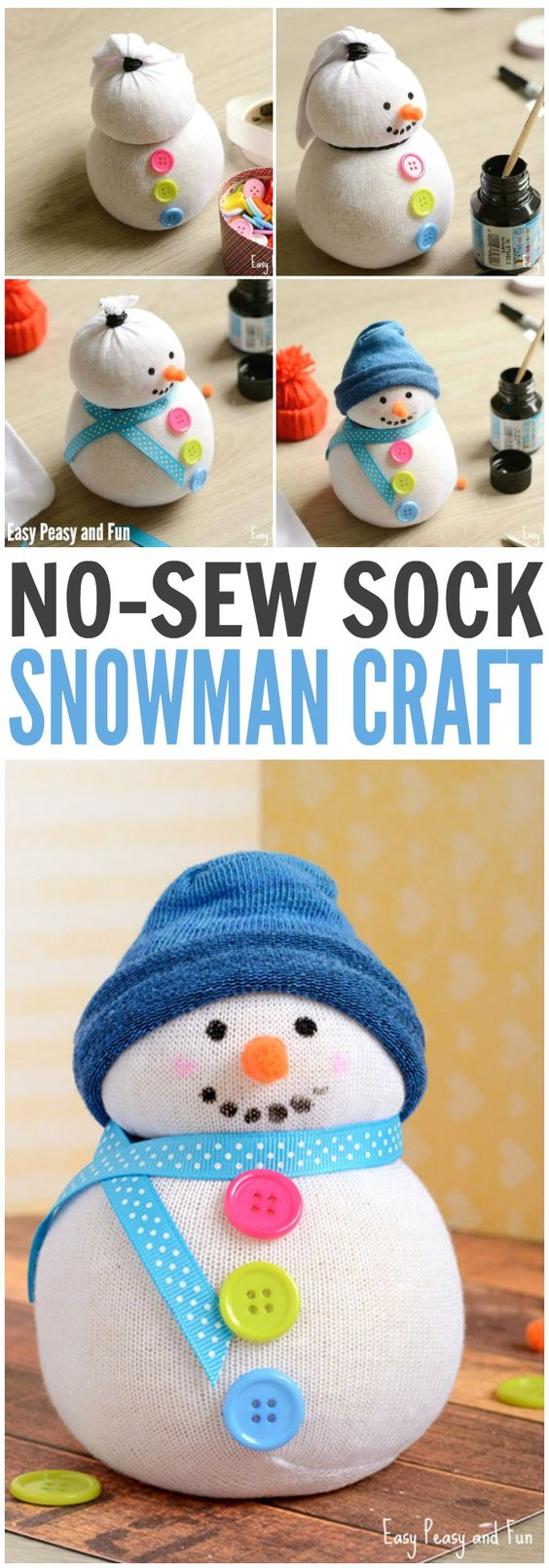 no-sew-sock-snowman-craft