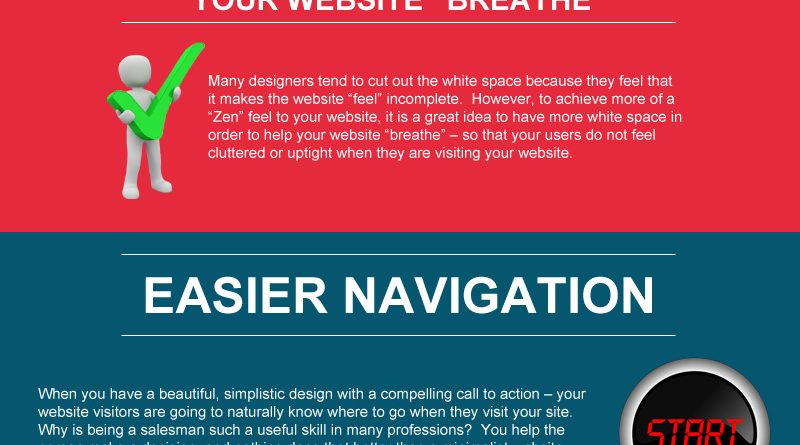 How to Make Your Website More Effective with Less on it