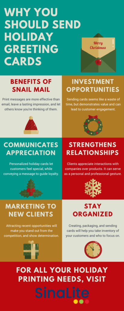 Why you should send holiday greeting cards infographix directory infographic m4hsunfo