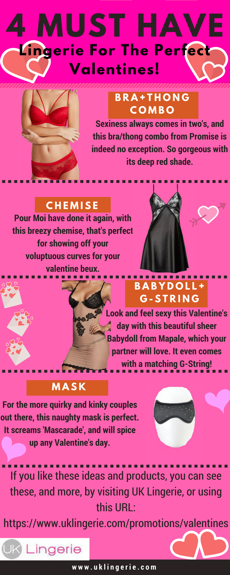 4 Must Have Lingerie For The Perfect Valentines