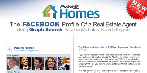 Facebook Profile of a Real Estate Agent – Infographix Directory